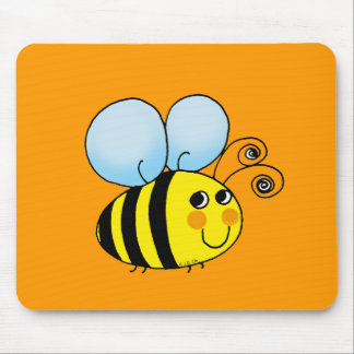 Bumble bee mouse pads