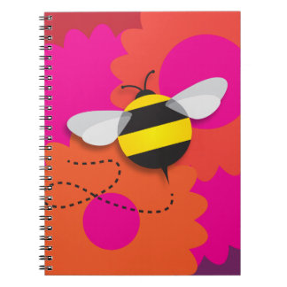 Bumble Bee Notebook