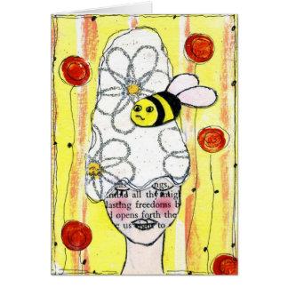 Bumble Bee Notecard