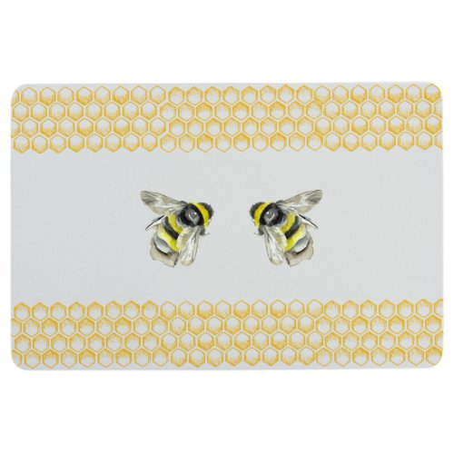 Bumble Bee Nursery Rug