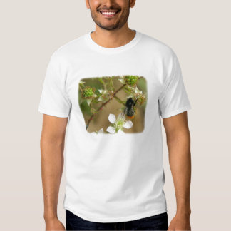 Bumble Bee on a Bramble 9Y042D-007 T Shirt