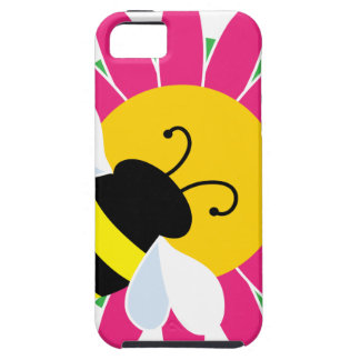 Bumble Bee on Flower iPhone SE/5/5s Case