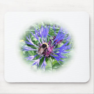 Bumble Bee on Knapweed Mouse Pad