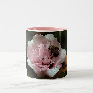 Bumble Bee on Rose of Sharon Mug