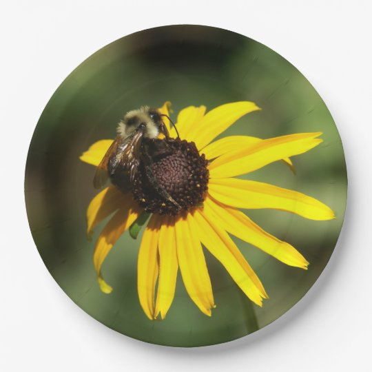 Bumble Bee Paper Plates. Paper Plate  sc 1 st  Zazzle & Bumble Bee Paper Plates. Paper Plate | Zazzle.com
