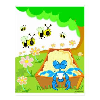 Bumble Bee Park Postcard