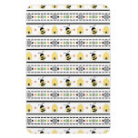 Bumble Bee Pattern Rectangle Magnet