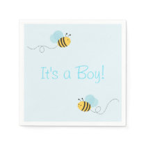 Bumble Bee Personalized Napkins