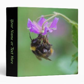 Bumble Bee Photo 3 Ring Binders