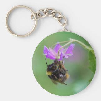 Bumble Bee Photo Keychain