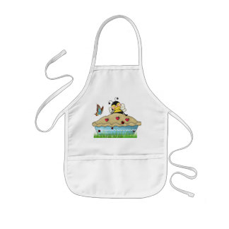 Bumble Bee Pie For Me Kids' Apron