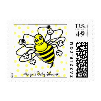 Bumble Bee Postage Stamps