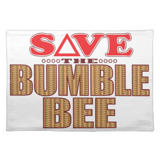Bumble Bee Save Cloth Placemat