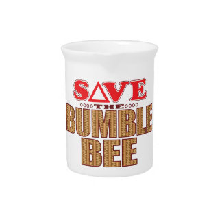 Bumble Bee Save Drink Pitcher