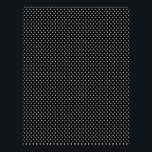 "Bumble Bee Scrapbook Paper 2<br><div class=""desc"">Black and white polka dot print.</div>"