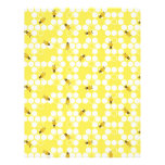 """Bumble Bee Scrapbook Paper Dual-sided 8.5"""" X 11"""" Flyer"""
