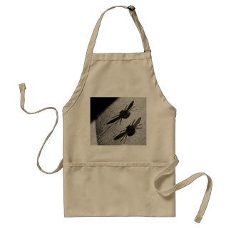 Bumble Bee Silhouette Shadow Adult Apron