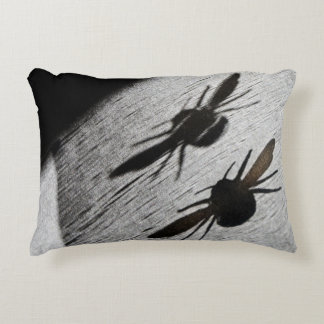 Bumble Bee Silhouette Shadow Decorative Pillow