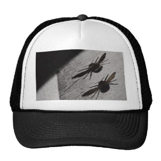 Bumble Bee Silhouette Shadow Trucker Hat