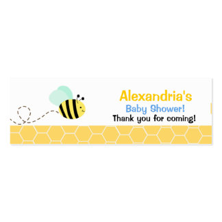 Bees business cards templates zazzle for Bee business cards