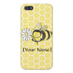 Bumble Bee with Daisy iPhone SE/5/5s Cover