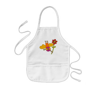 Bumble Bee with Flower Kids' Apron