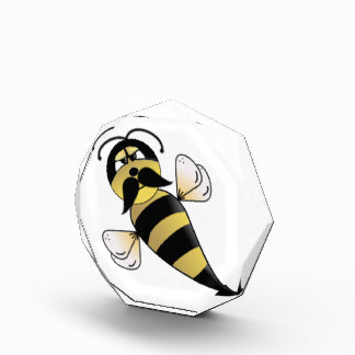 Bumble Bee with Mustache Award