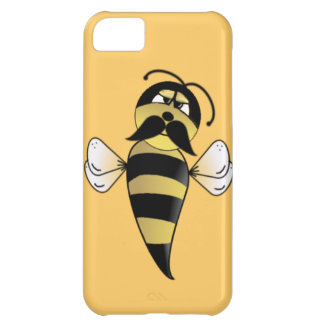 Bumble Bee with Mustache iPhone 5C Case