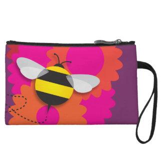Bumble Bee Wristlet