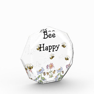 Bumble Bees and Flower Bee Happy Award