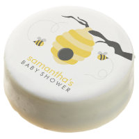 Bumble Bees Baby Shower Chocolate Dipped Oreo