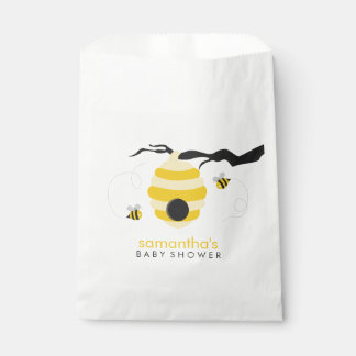 Bumble Bees Baby Shower Favor Bag
