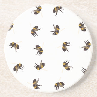Bumble Bees Drink Coaster