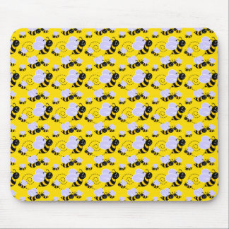 Bumble Bees Mouse Pad