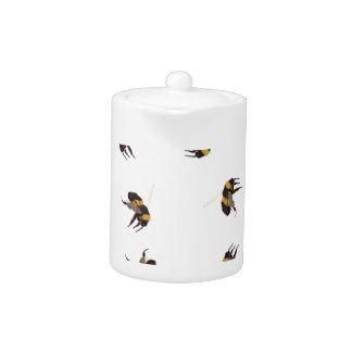Ble Bee Teapots Zazzle