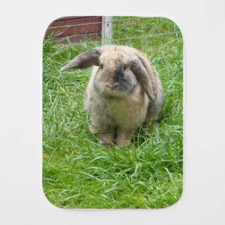 Bumble Rabbit Burp Cloth