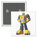 Bumblebee 1 pinback buttons