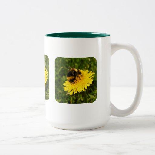 Bumblebee 1 Two-Tone coffee mug