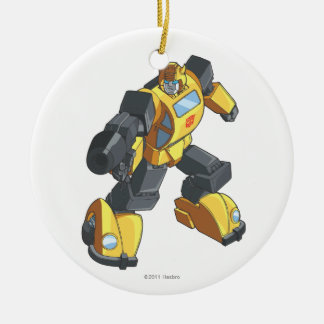 Bumblebee 2 ceramic ornament