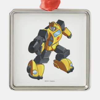Bumblebee 2 metal ornament
