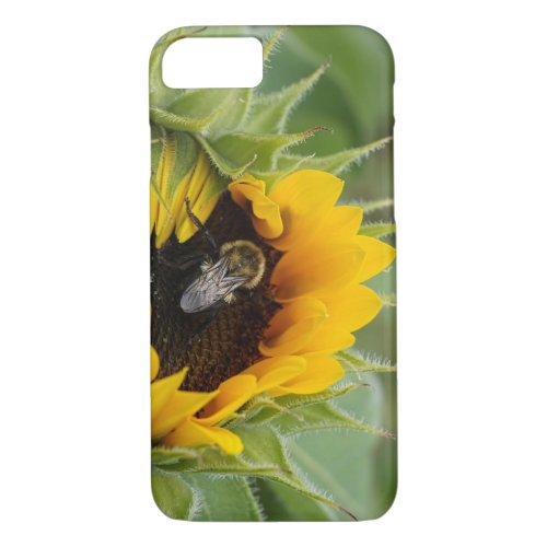 Bumblebee and Sunflower iPhone 8/7 Case