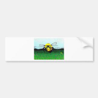 Bumblebee art bumper stickers