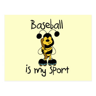 Bumblebee Baseball My Sport Tshirts and Gifts Postcard