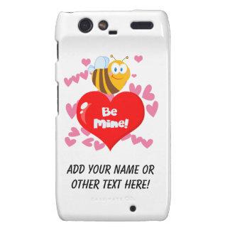 Bumblebee Be Mine Valentine Droid RAZR Cases