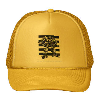Bumblebee Bee Stripes 2 Trucker Hat