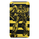 Bumblebee Bee Stripes Barely There iPod Covers