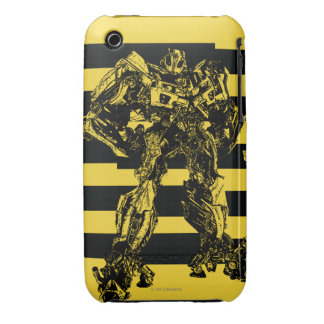 Bumblebee Bee Stripes Case-Mate iPhone 3 Case