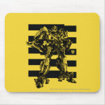 Bumblebee Bee Stripes Mouse Pad