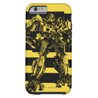 Bumblebee Bee Stripes Tough iPhone 6 Case