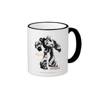Bumblebee - Black Ringer Mug
